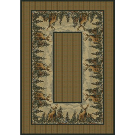 Standing Proud Area Rug - Cabin Style