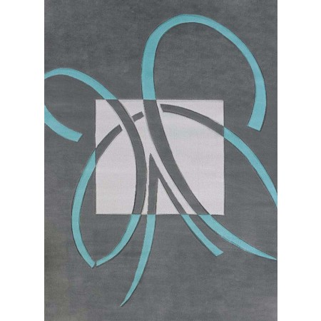 Satin Aqua Area Rug from the Urban Galleries Collection