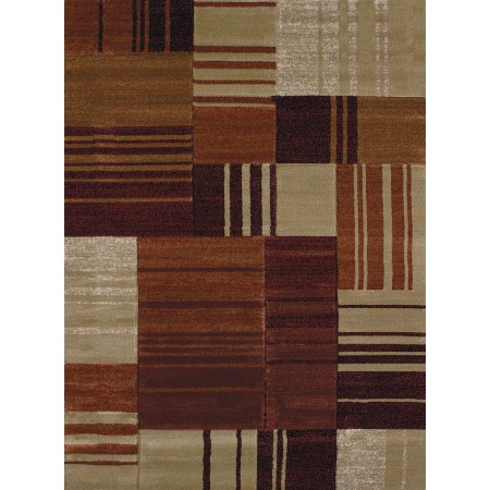 Line Drive Terra Area Rug from the Urban Galleries Collection