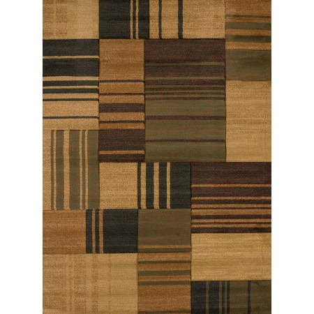 Freestyle Brown Area Rug from the Urban Galleries Collection