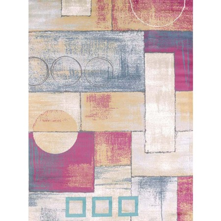 Abstract Multi Area Rug - Transitional Style