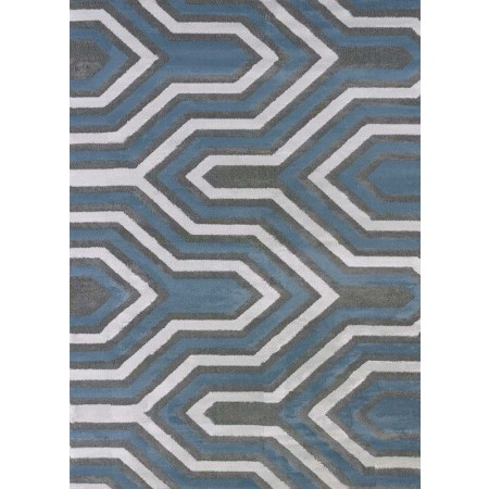 Cupola Charcoal Area Rug - Transitional Style