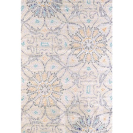 "Floral Stone 63"" Width X 90"" Length Area Rug"