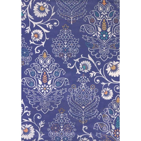 "Dominique Navy 63"" Width X 90"" Length Area Rug"