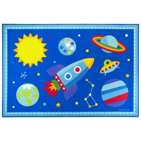 Out of this World 39in X 58in Rug by Olive Kids