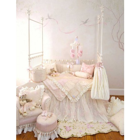 Ava 3 Piece Crib Set
