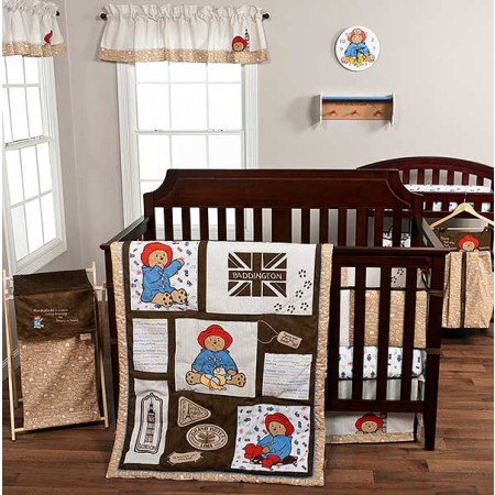 Paddington Bear 3 Piece Crib Bedding Set