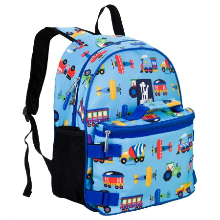 Olive Kids Trains, Planes, Trucks Bogo Backpack
