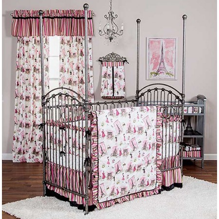 Tres Chic 3 Piece Crib Bedding Set by Waverly