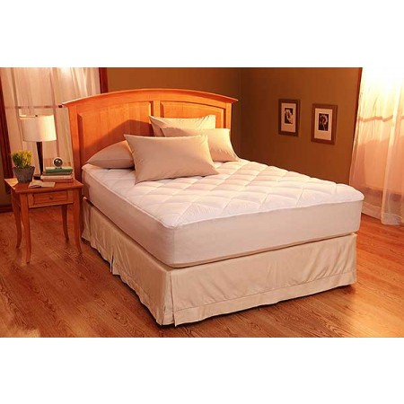 Restful Nights® Egyptian Cotton Mattress Pad - Twin Size