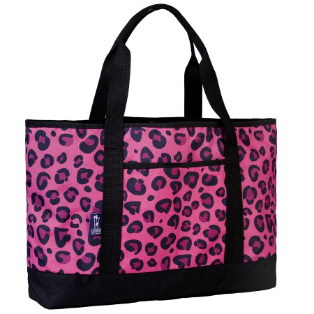 Pink Leopard Tote-All