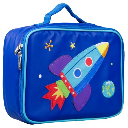 Olive Kids Rocket Embroidered Lunch Box