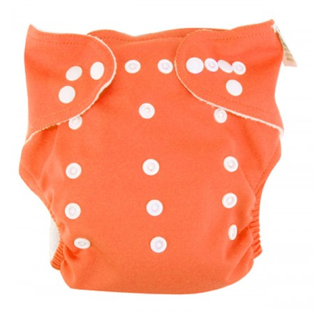 Cloth Diaper - Orange