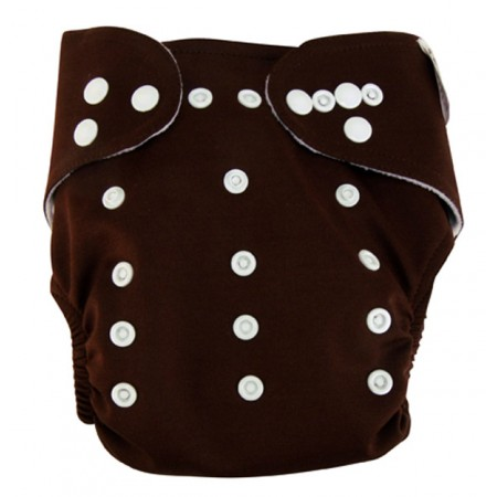 Cloth Diaper - Chocolate