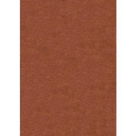 "Brushstrokes Redwood 63"" Width X 86"" Length Area Rug - Solid Color"