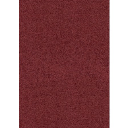 "Brushstrokes Crimson 63"" Width X 86"" Length Area Rug - Solid Color"