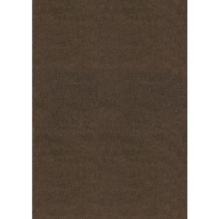"Brushstrokes Brown 63"" Width X 86"" Length Area Rug - Solid Color"