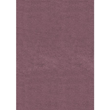 "Brushstrokes Plum 63"" Width X 86"" Length Area Rug - Solid Color"