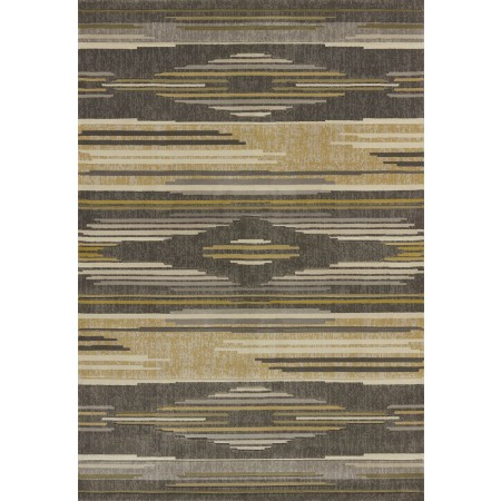 Native Chic Grey Area Rug - Southwestern Style
