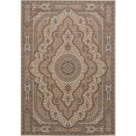 Reese Beige Area Rug - Transitional Style