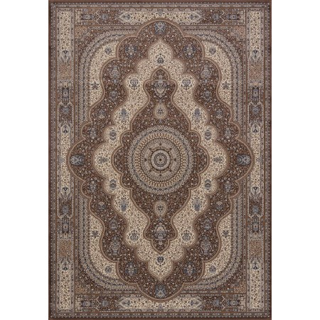 Reese Brown Area Rug - Transitional Style