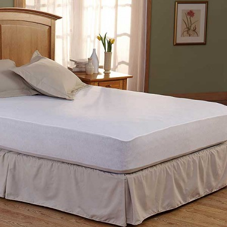 "Spring Air Bed Armor Mattress Pad - 72"" X 84"" California King Size"