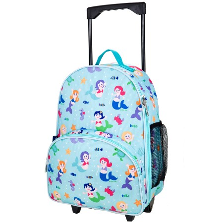 Olive Kids Mermaids Rolling Luggage