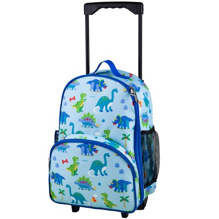 Olive Kids Dinosaur Land Rolling Luggage