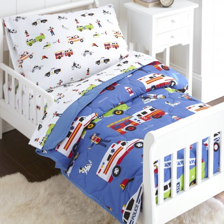 Olive Kids Heroes 4 piece Toddler Size Bed in a Bag Set