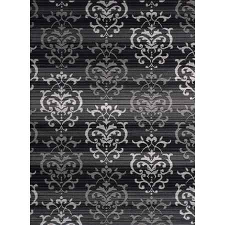 Countess Grey Area Rug - Transitional Style