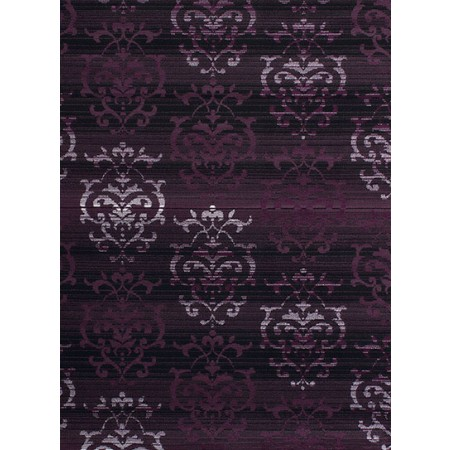 Countess Plum Area Rug - Transitional Style
