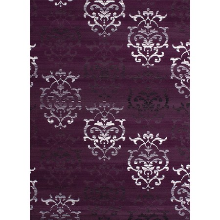 Countess Lilac Area Rug - Transitional Style