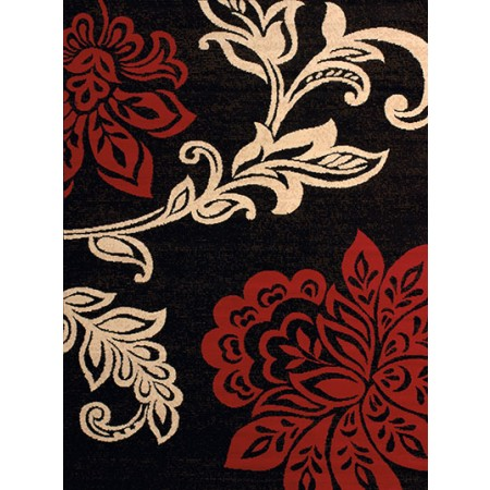 Trouseau Red Area Rug - Traditional Style