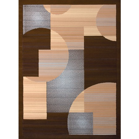 Zoom Zoom Blue Area Rug - Geometric Sytle