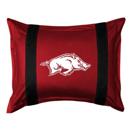 Arkansas Razorbacks Sideline Pillow Sham