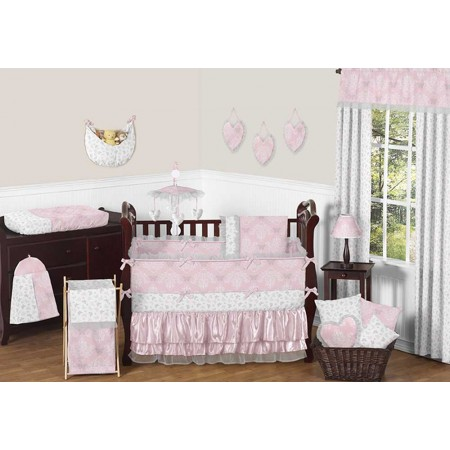 Alexa Crib Bedding Set by Sweet Jojo Designs - 9 piece