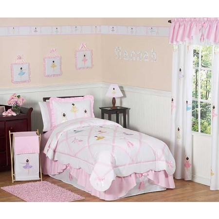 Ballerina Bedding Set - 4 Piece Twin Size By Sweet Jojo Designs