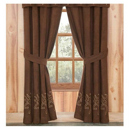 Browning Buckmark Suede Drapes