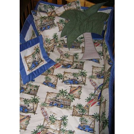 Baja Baby Print Fitted Sheet - Crib Size