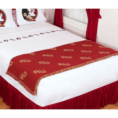 Florida State Seminoles Throw Blanket - Bed Runner