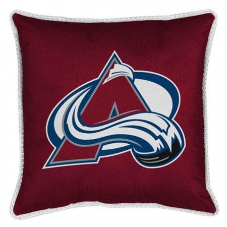 "Colorado Avalanche Sideline Pillow - 17"" X 17"""