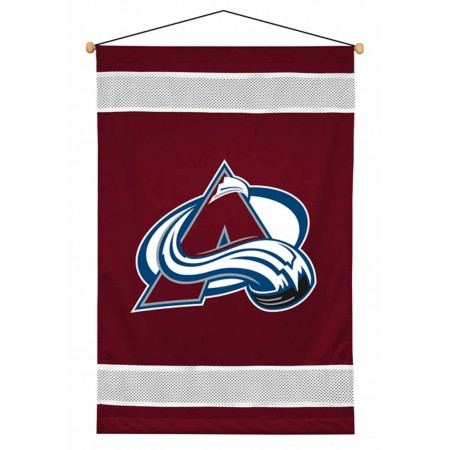 Colorado Avalanche Sideline Wall Hanging - 28 X 45