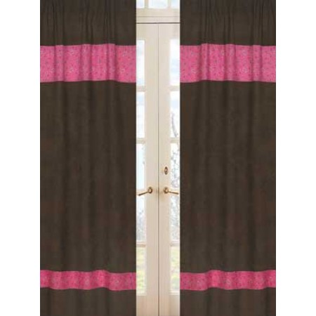 Cowgirl Western Window Panels (Bandana Print)
