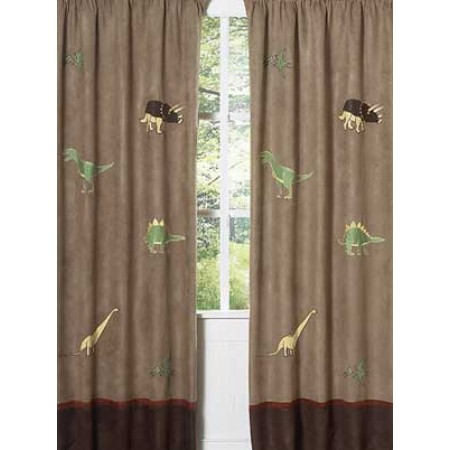 Dinosaur Land Window Panels