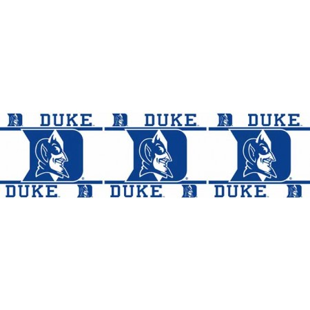 "Duke Blue Devils Wall Border - 5"" Tall X 15' Long"