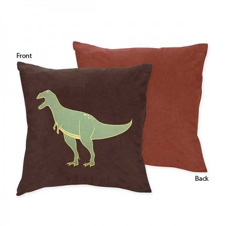 Dinosaur Land Accent Pillow