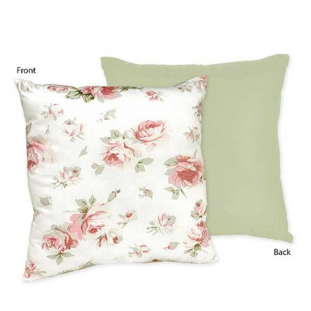 Rileys Roses Accent Pillow
