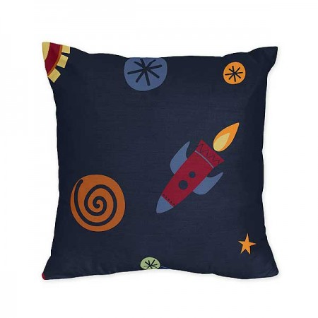 Space Galaxy Accent Pillow
