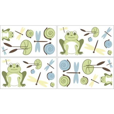 Leap Frog Wall Decals