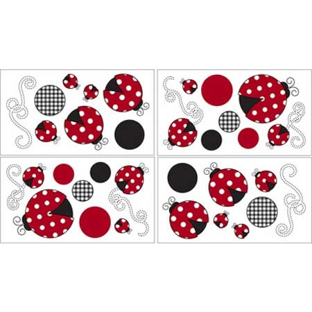 Little Ladybug Wall Decals
